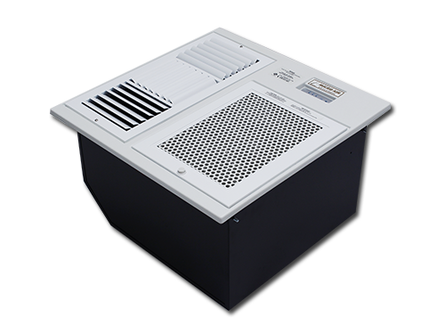เครื่องฟอกอากาศ แบบแขวนฝ้า มีระบบกรองดักกำจัดฝุ่นด้วยไส้กรองหยาบ Pre-filter ตามด้วยระบบการจับฝุ่น แบบ EPS หรือ  electrostatic precipitator จึงทำให้สามารถดักจับฝุ่นละอองขนาดเล็กในอากาศที่มีขนาดเล็กไม่เกิน 25 ไมครอน หรือ PM 2.5 ได้ดี และดักจับกลิ่นด้วย Activated Carbon ยี่ห้อ EST รุ่น RF600